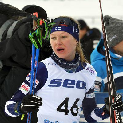 Eveliina Piippo vann VM-silver i U23-klassen i Lahtis.