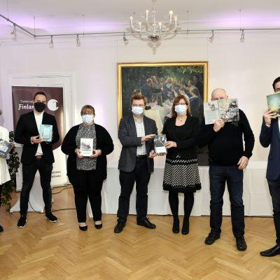 Kandidaterna till Fack-Finlandiapriset 2020.