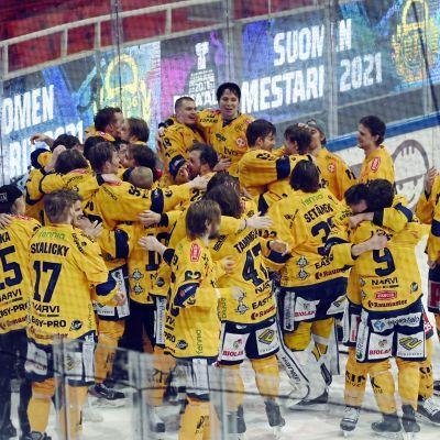 Lukko firar FM-guld.