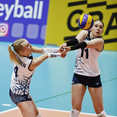 Finlands damlandslag i volleyboll.