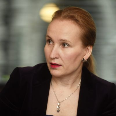 Teknologiindustrins arbetsmarknadschef Minna Helle.