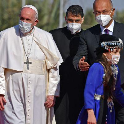 Paavi Franciscus historiallisella vierailulla Irakissa