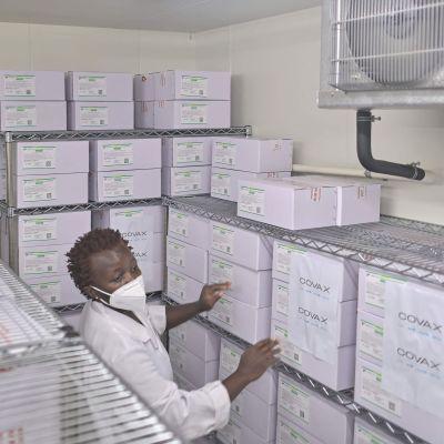 Covid-19-vaccin har levererats till Nairobi