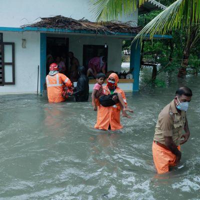 Tauktae-sykloni runnoo Intiaa