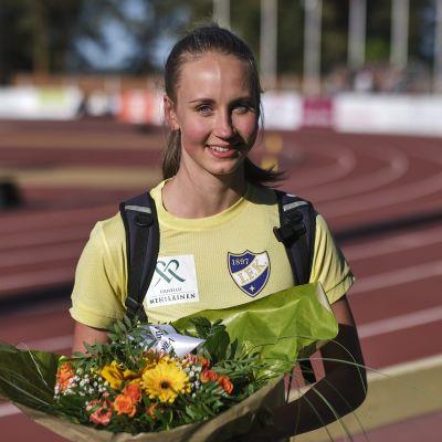 Viivi Lehikoinen kellotti uuden ennätyksensä Jyväskylässä.