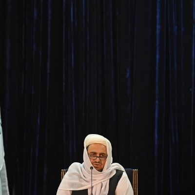 Abdul Baqi Haqqani, minister för högre utbildning i Afghanistan