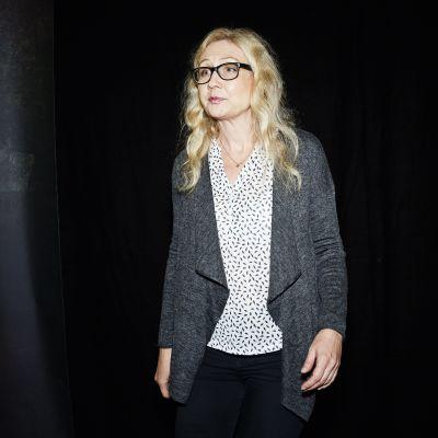 Anneli Auer 27.10.2016 på bokmässan i Helsingfors.