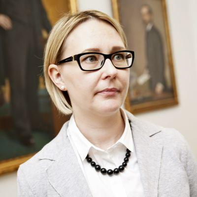 Riksdagens talman Maria Lohela (Sannf).