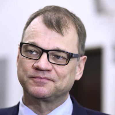 Statsminister Juha Sipilä (C).