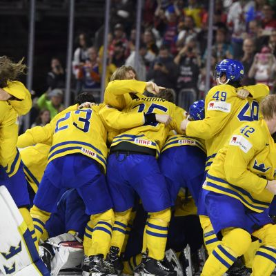 Sverige vann VM-guld 2017