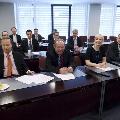 Sannfinländarnas riksdagsgrupps möte 15.6.2017