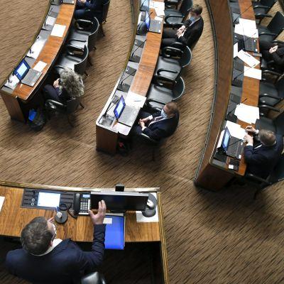 Eduskunnan täysistunto 22.4.2020