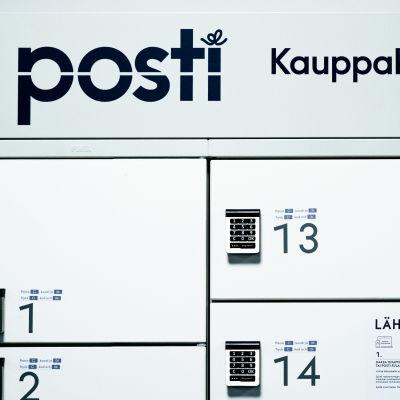 Postin pakettiautomaatti.