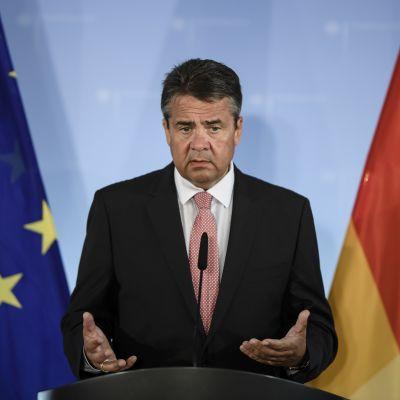Tysklands utrikesminister Sigmar Gabriel.