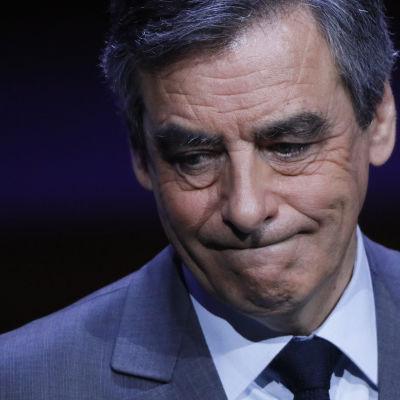 Franska presidentkandidaten François Fillon.
