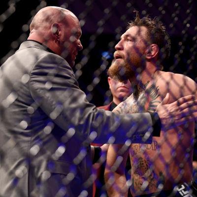 Conor McGregor förlorade i comebacken till UFC.