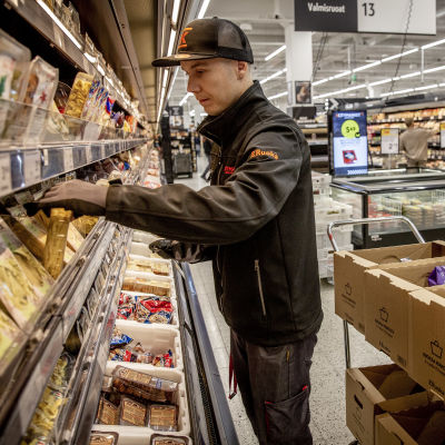 Keräilijä Sami Suomalainen Citymarket Eastonissa