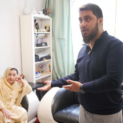 Mir Omar och Haseena Ahktar