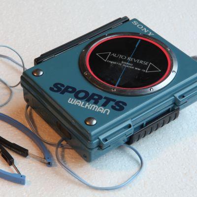 En Sony Walkman från 1980-talet.