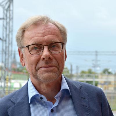 Rektor Mikko Hupa vid Åbo Akademi