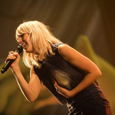Veronica Maggio på Ruisrock i Åbo den 5 juli 2014.