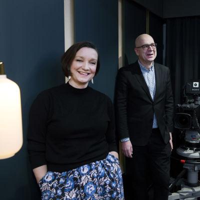 Eeva Lehtimäki ja Eero Hyvönen