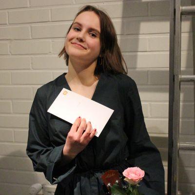 En kvinna som heter Sanelma Vahtera.