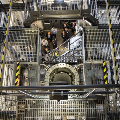Forskning kring kärnkraft vid universitetet LUT.