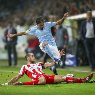 Ricardinho i farten i Champions League.