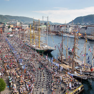 Tall Ships Races i Bergen.