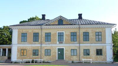 Brinkhall herrgård på Hirvensalo i Åbo där tv-seriven Hovimäki inspelades
