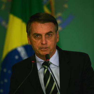 Brasiliens president Jair Bolsonaro