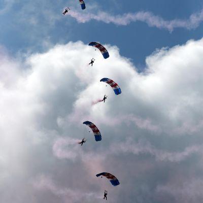 fallskärmshoppare,