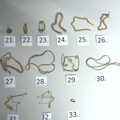 Stulna smycken