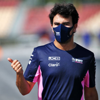Sergio Perez.