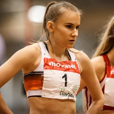 Zenitha Eriksson, inomhus-FM 2017.