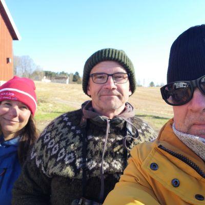 Minna Pyykkö, Jan Södersved, Asko Hauta-aho.