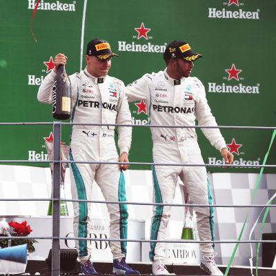 Lewis Hamilton vann.