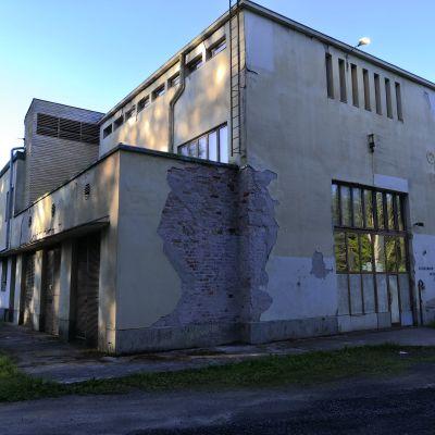 Vanha radioasema ulkoa