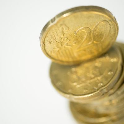20 sentti kolikko euro raha valuutta talous