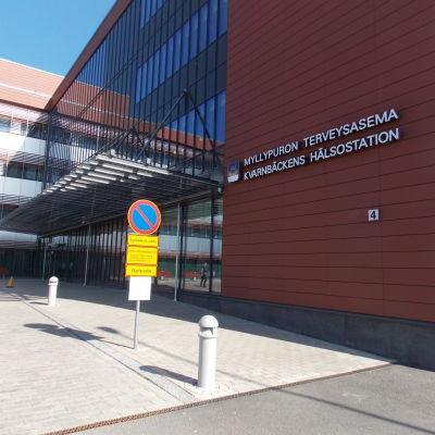 Vårdcentralen i Kvarnbäcken i Helsingfors.