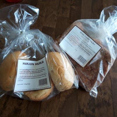 Bageriprodukter från Harjus bageri