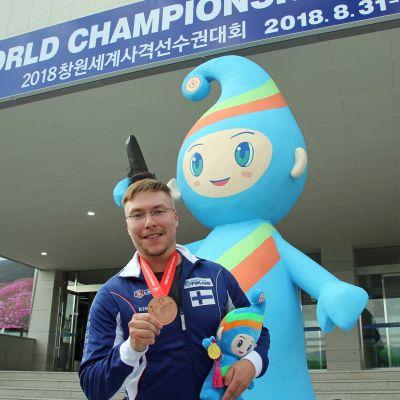 Tomi-Pekka Heikkilä vann VM-brons.