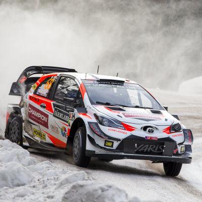 Marcus Grönholm kör i Sverige