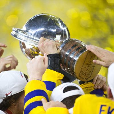 Sverige vann VM-guld i ishockey för andra året i rad.