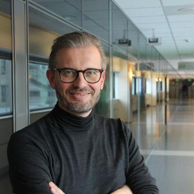Thomas Westerholm är direktör vid forskningslaboratoriet för affärsdisruptioner vid Åbo universitet.