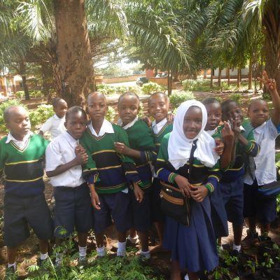 Tansanian 4H-järjestön ja ENOn yhteisessä hankkeessa perustettiin taimitarhoja ja istutettiin puita 2015-2019.