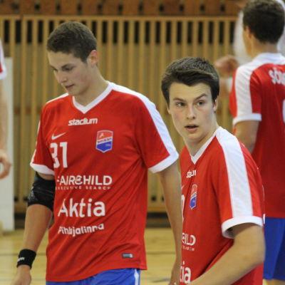 Max och Robin Granlund.