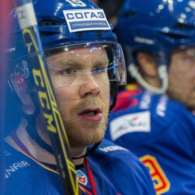 Roope Talaja spelade tidigare för Jokerit i KHL.