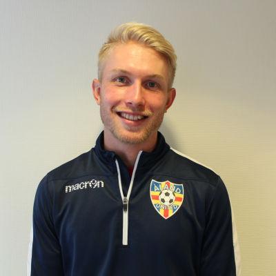 Samuel Fagerholm är tränare för Åland United.